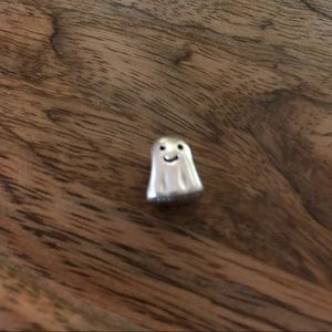 Authentic sterling silver Pandora ghost charm
